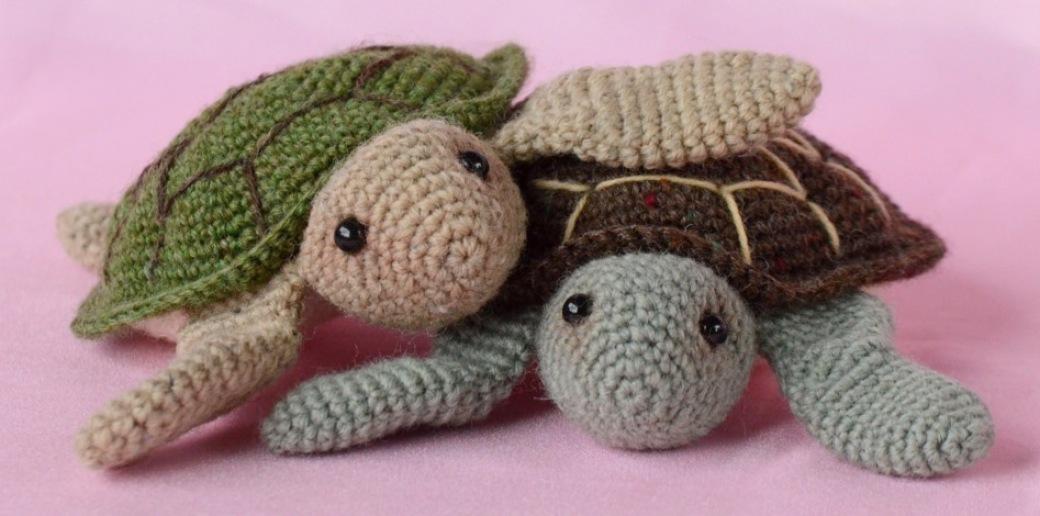 Zeeschildpadjes Haakpatroon Van Kristel Droog Dekker Craftkitchen