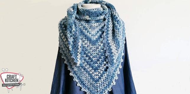 Sjaal Schachenmayr Merino Extrafine Lace Craftkitchen