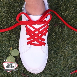 Coolest ways to tie your shoes!