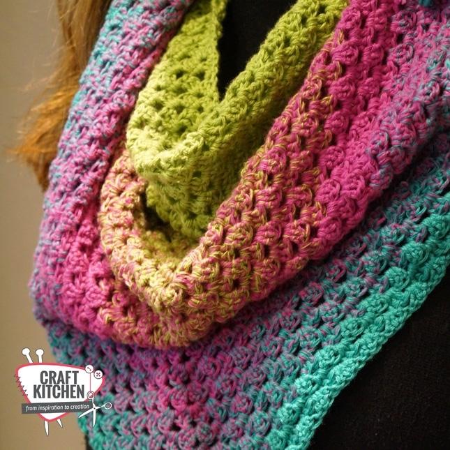 Colourful Sjaal Verloopsjaal Kleurrijke Sjaal Craftkitchen